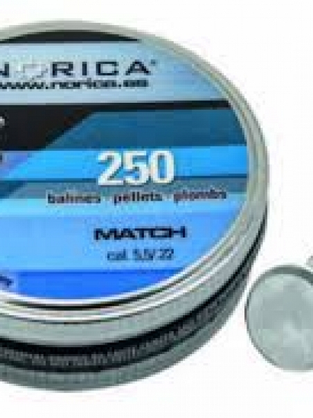 BALINES NORICA MATCH 4.5 250u