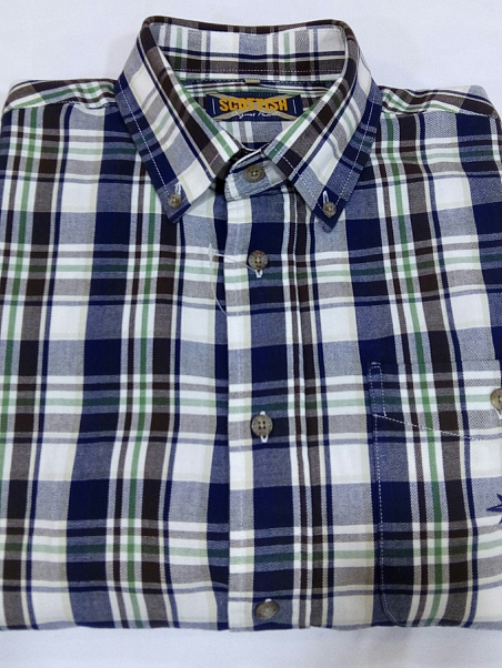 CAMISA SCOTTISH CUADROS