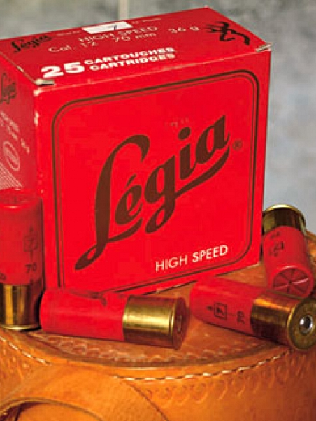 CARTUCHO LEGIA H.SPEED ROJO 36G